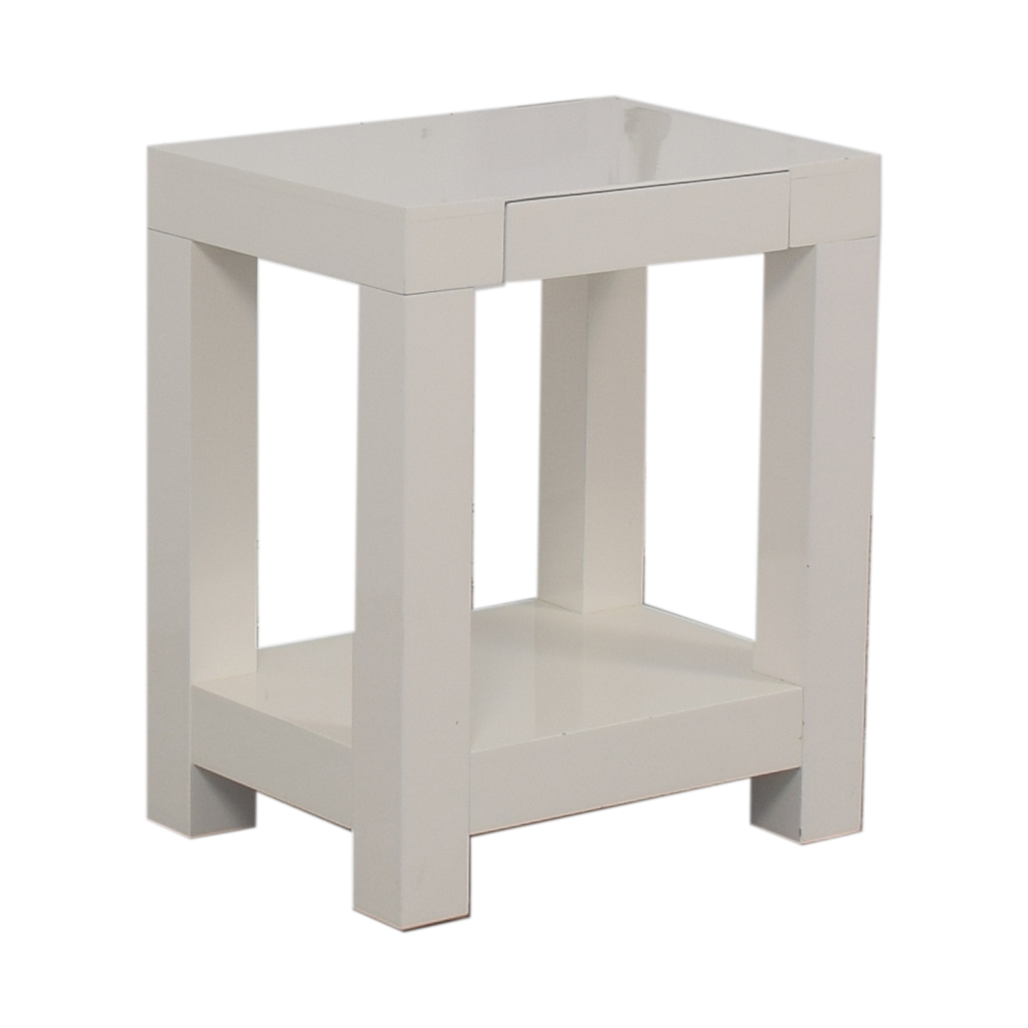 off west elm parsons end table tables second hand navy blue chalk paint pet crate laura ashley kitchen chairs grey walls brown leather couch acme espresso making pipe furniture