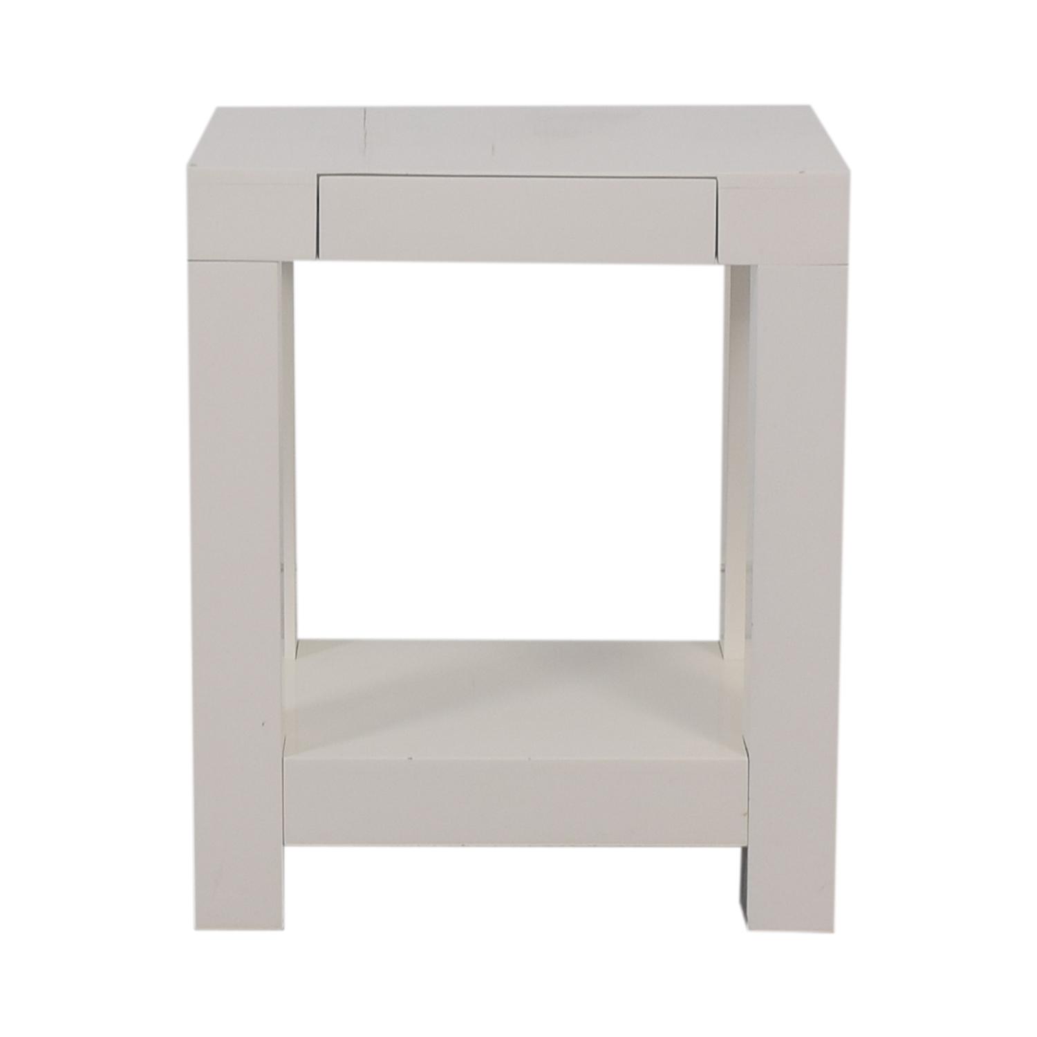 off west elm parsons end table tables used gas pipe stool north shore small wicker square oak halogen floor lamp acme sofa pet crate commercial dining next settees extra large