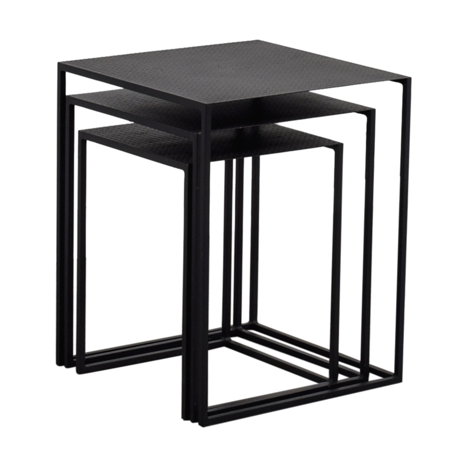 off west elm stackable nesting tables used end black for rustic glam coffee table elegant decor living room layout ideas with brown furniture white laura ashley kitchen island
