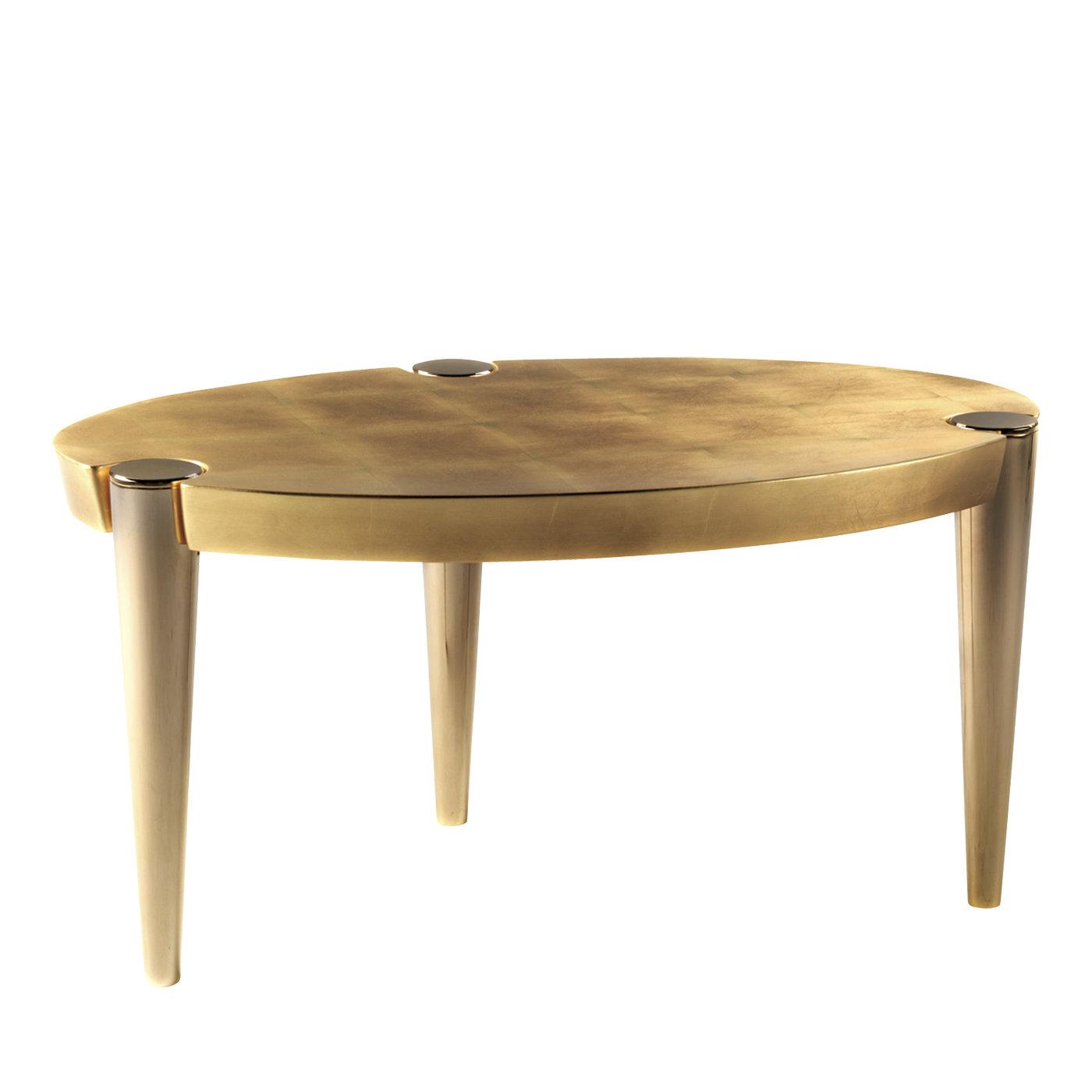 ottaviano gold leaf coffee table elledue arredamenti ellemb end artemest elegant white black side park home furniture skinny bedside antique primitive wicker high quality brands