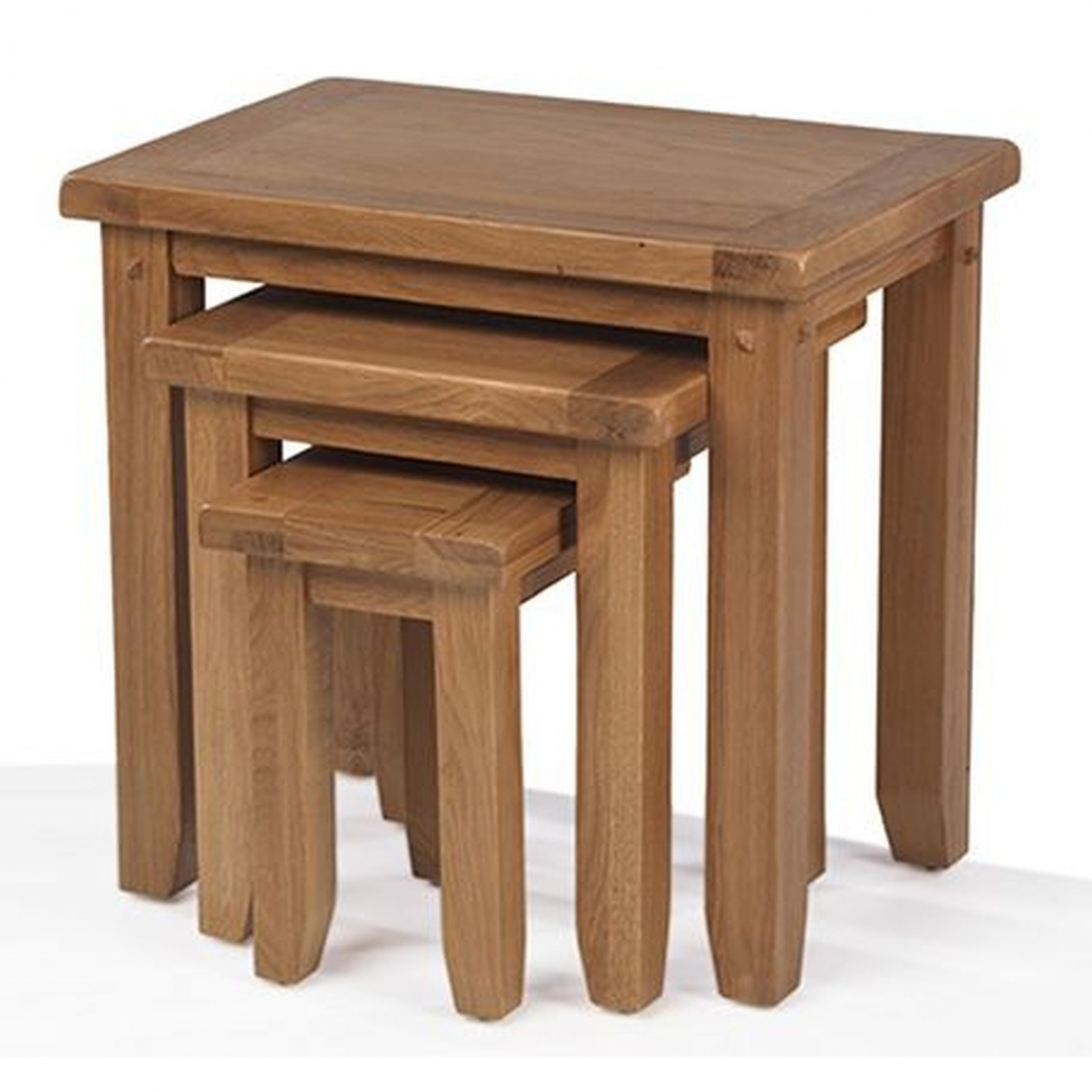 paloma oak furniture nest three coffee tables end details about small glass side for living room table and chairs sauder wood two antique white cottage big lots bag ping console