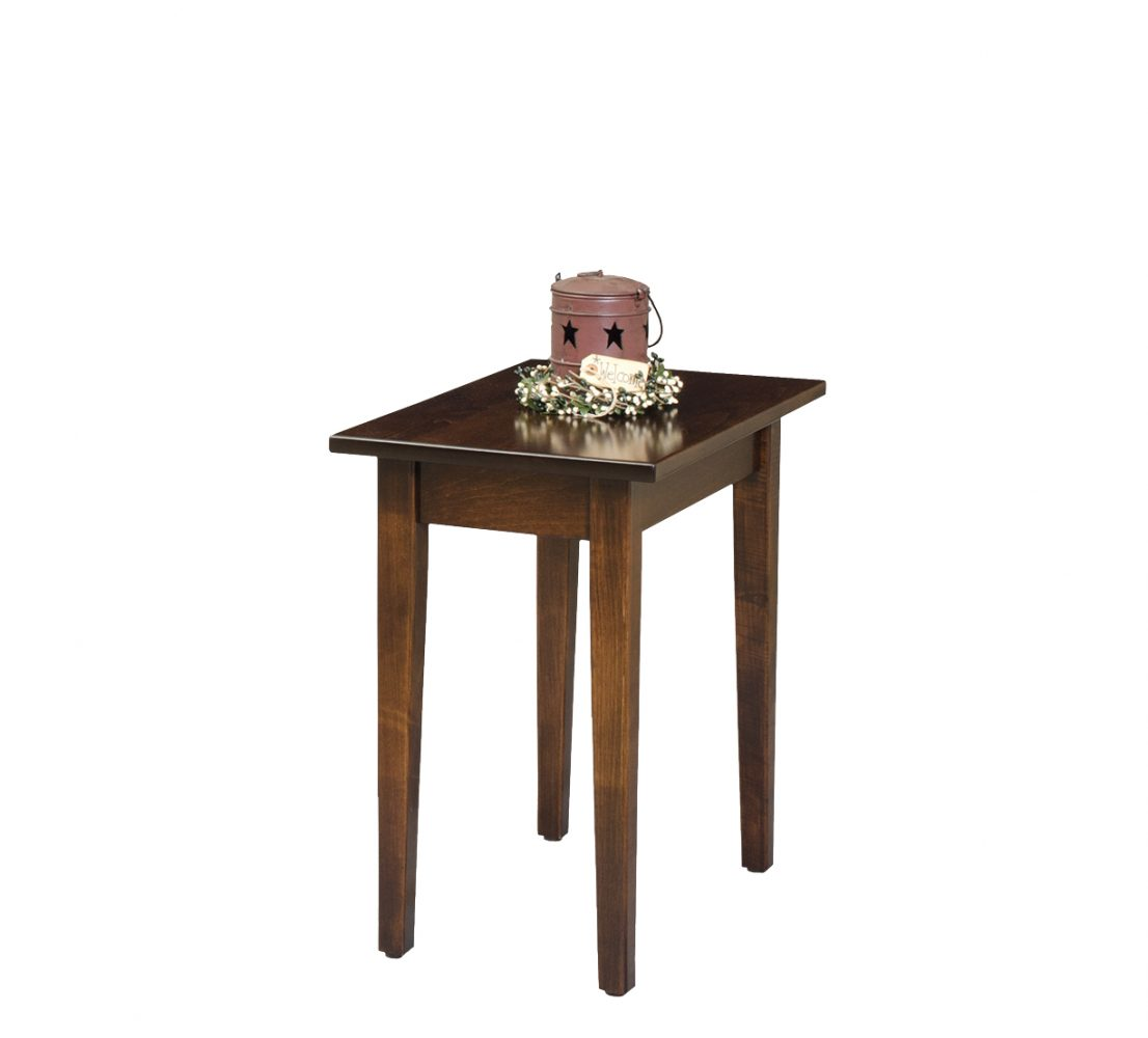 petite shaker end table martin furniture dimensions universal summer hill jofran slater mill sofa glass coffee with white base dhp parsons modern black wood grain miami dolphins