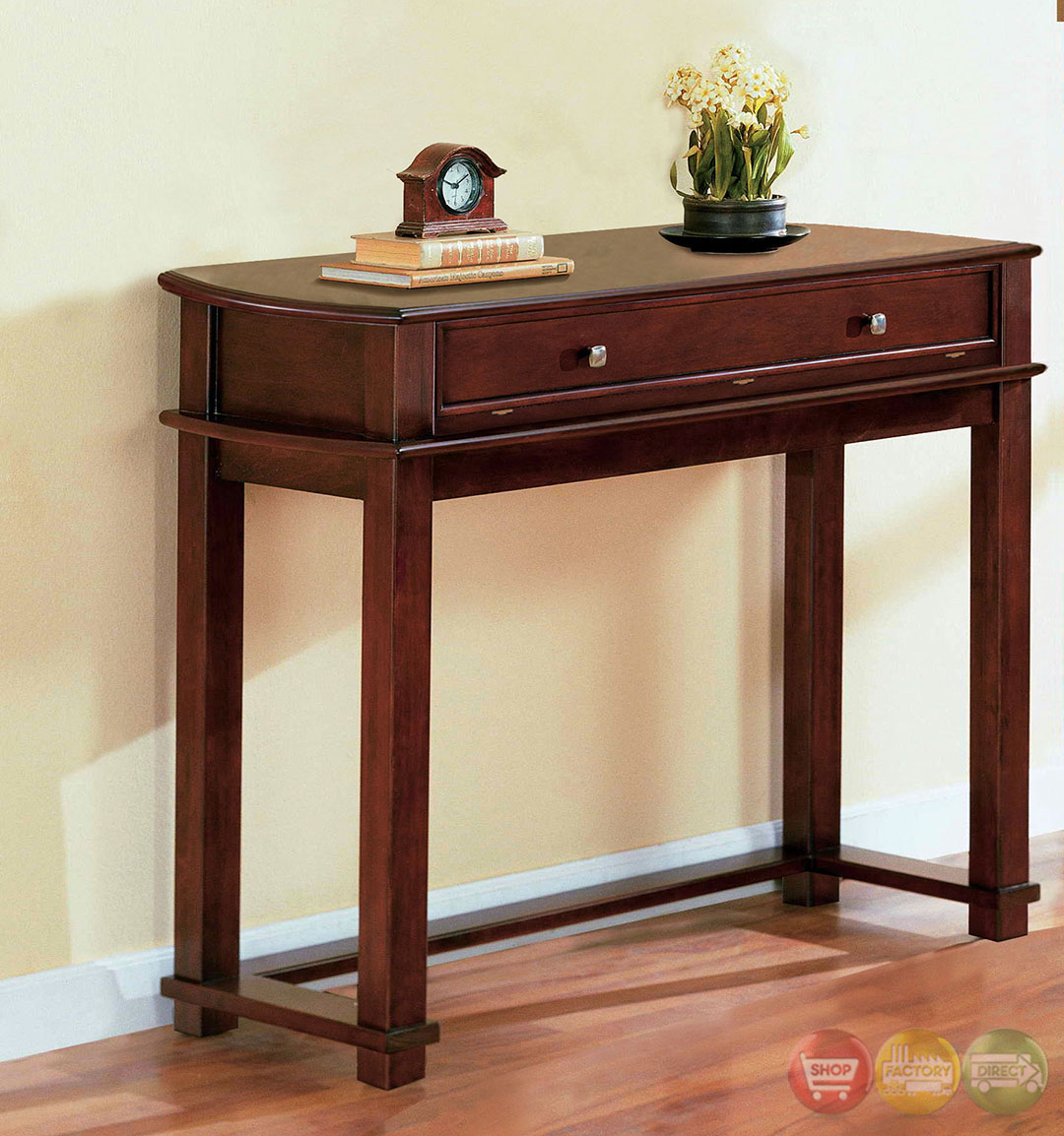 pine hurst cherry accent tables with drawer coffee table wicker elkton end three painted yellow solid wood low country style sets pallet furniture instructions free standard side