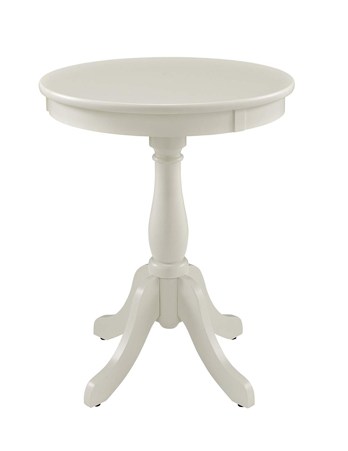 powell furniture round accent white end table kitchen dining magnolia gallery ceramic outdoor tables vintage modern decor universal spencer dresser ethan allen american