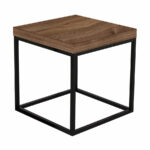 prairie walnut black modern end table temahome eurway tables metal frame untreated wood desk glass art leick demilune hall stand sofa simple office coffee sets clearance the brick 150x150