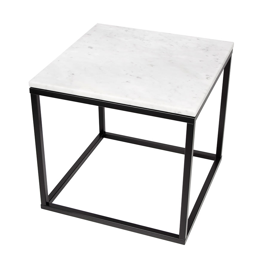 prairie white marble modern end table temahome eurway tables black simple office untreated wood desk small gold sofa leick demilune hall stand glass and chrome dining furniture