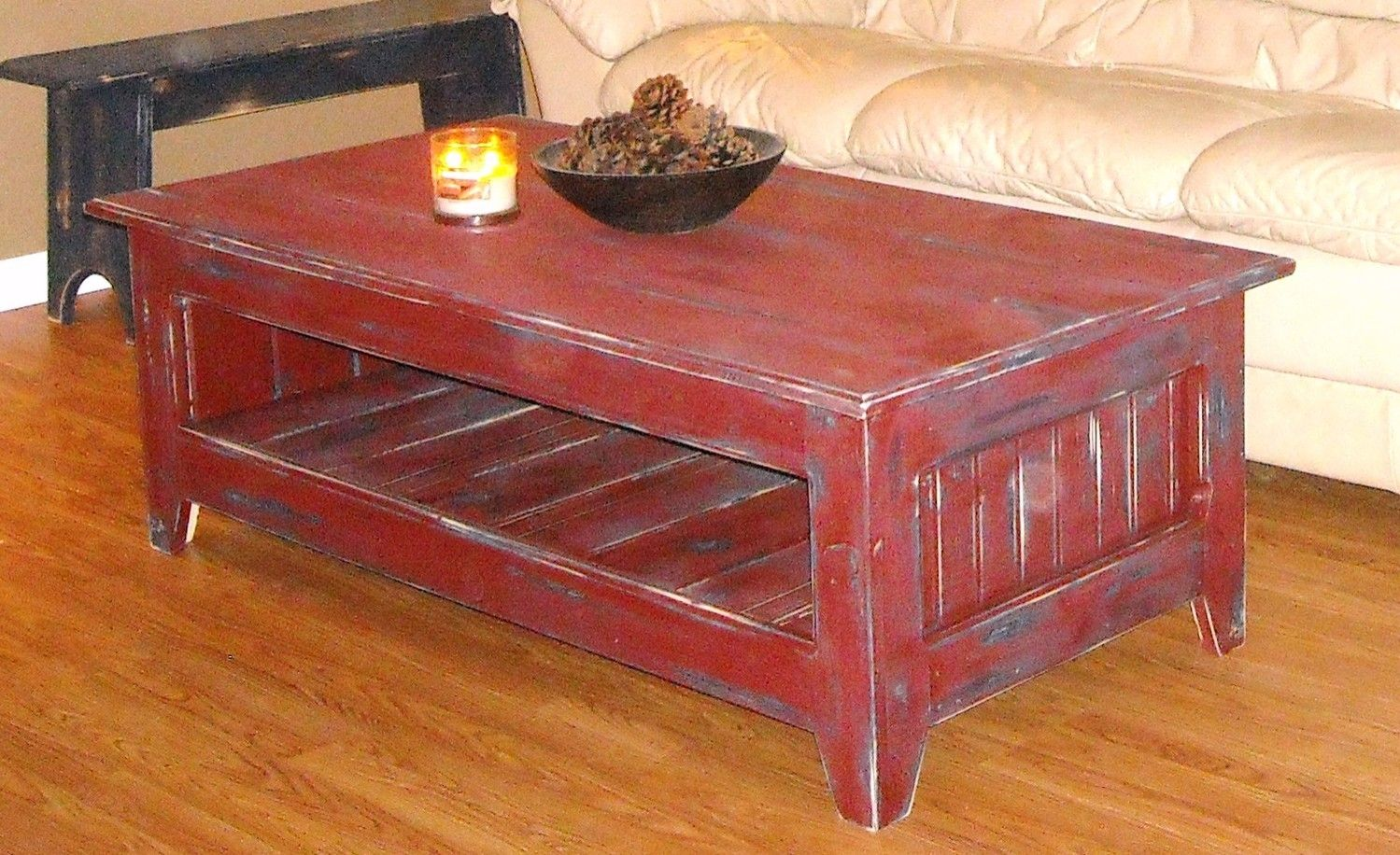 primitive coffee table country home rustic end tables and queen size diy distressed painting furniture couch placement small living room wood iron ashley full site garden chairs