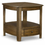 primo end table hom furniture medium brown aqua blue accent designer bedside lamps wolves website black side lamp granby coffee wood projects out pallets winsome craftsman 150x150