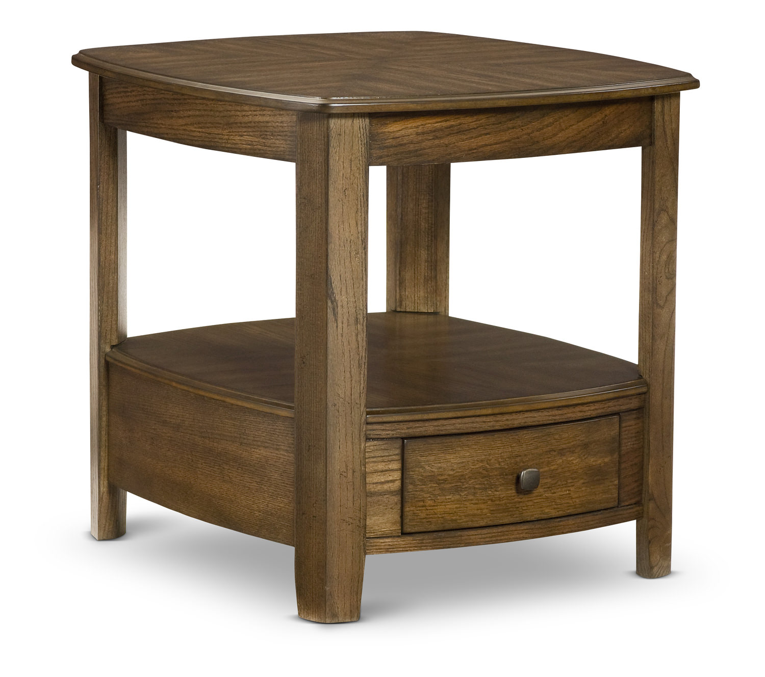 primo end table hom furniture medium brown aqua blue accent designer bedside lamps wolves website black side lamp granby coffee wood projects out pallets winsome craftsman