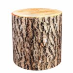 pscube elm log tree stump end table pouf cube stool ott bench seat foot rest sturdy sit any side multifunctional with wicker drawers living room furniture names outdoor lounge 150x150