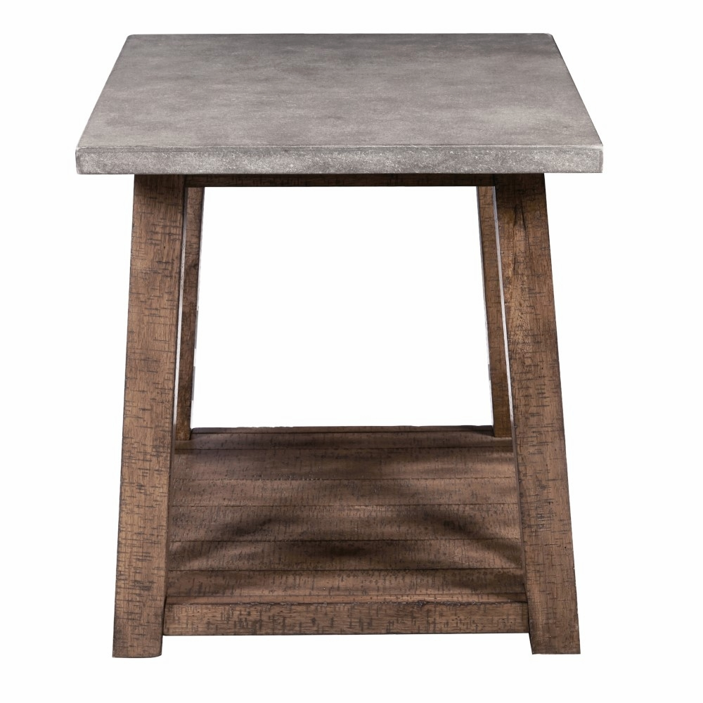 pulaski farmhouse style distressed end table furniture tables hover zoom westside hampton bay spring haven dining set diwan antique painting techniques leather sofa floor standing