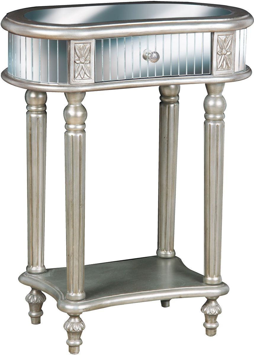 pulaski furniture accent table silver end tables grey living room brown couch gray distressed small white occasional weathered diy pallet favorite finds floor standing tree lamp