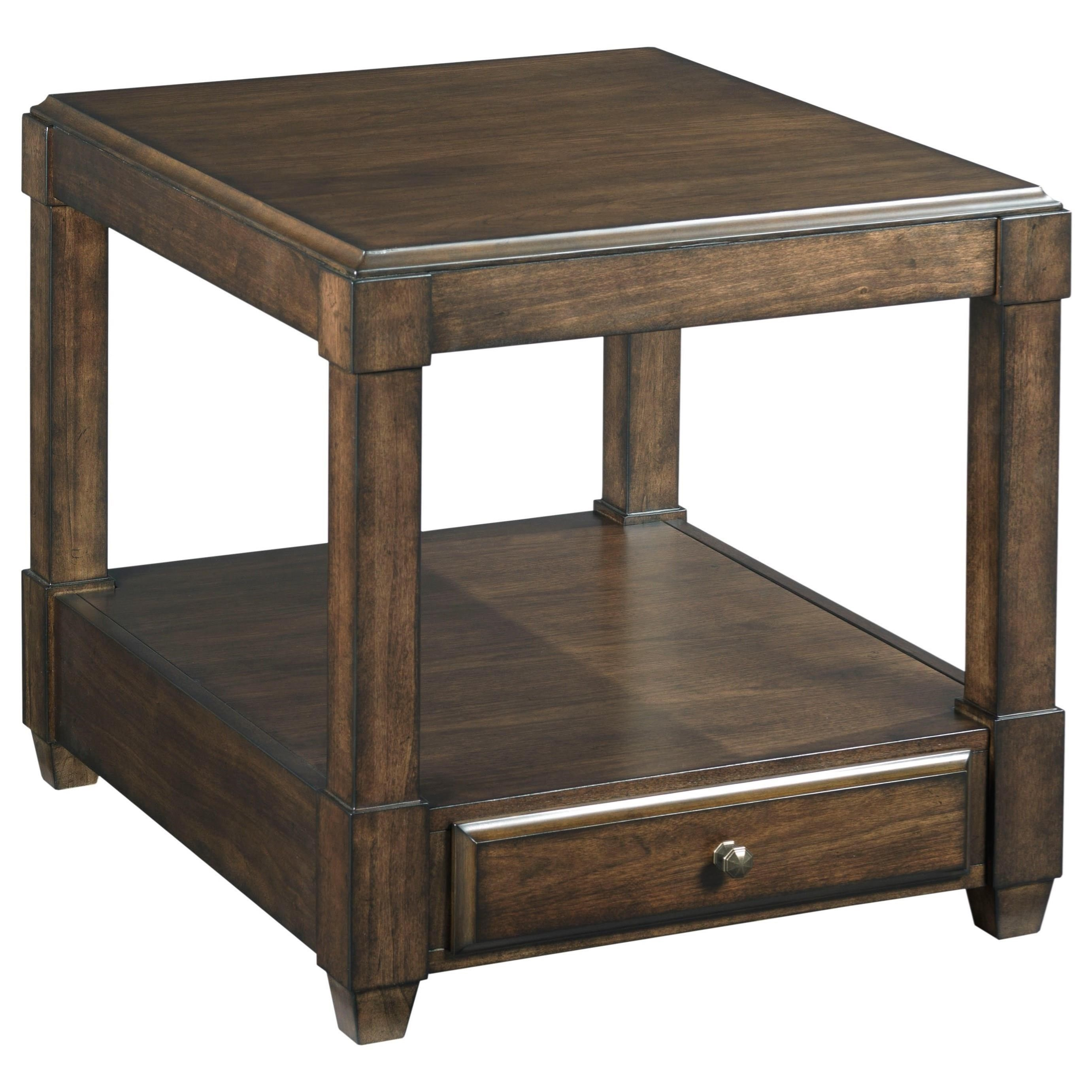 rectangular end table with soft close drawer hammary wolf furniture products color halsey tables liberty aspen skies coffee glass white antiquing paint and stain little griddle