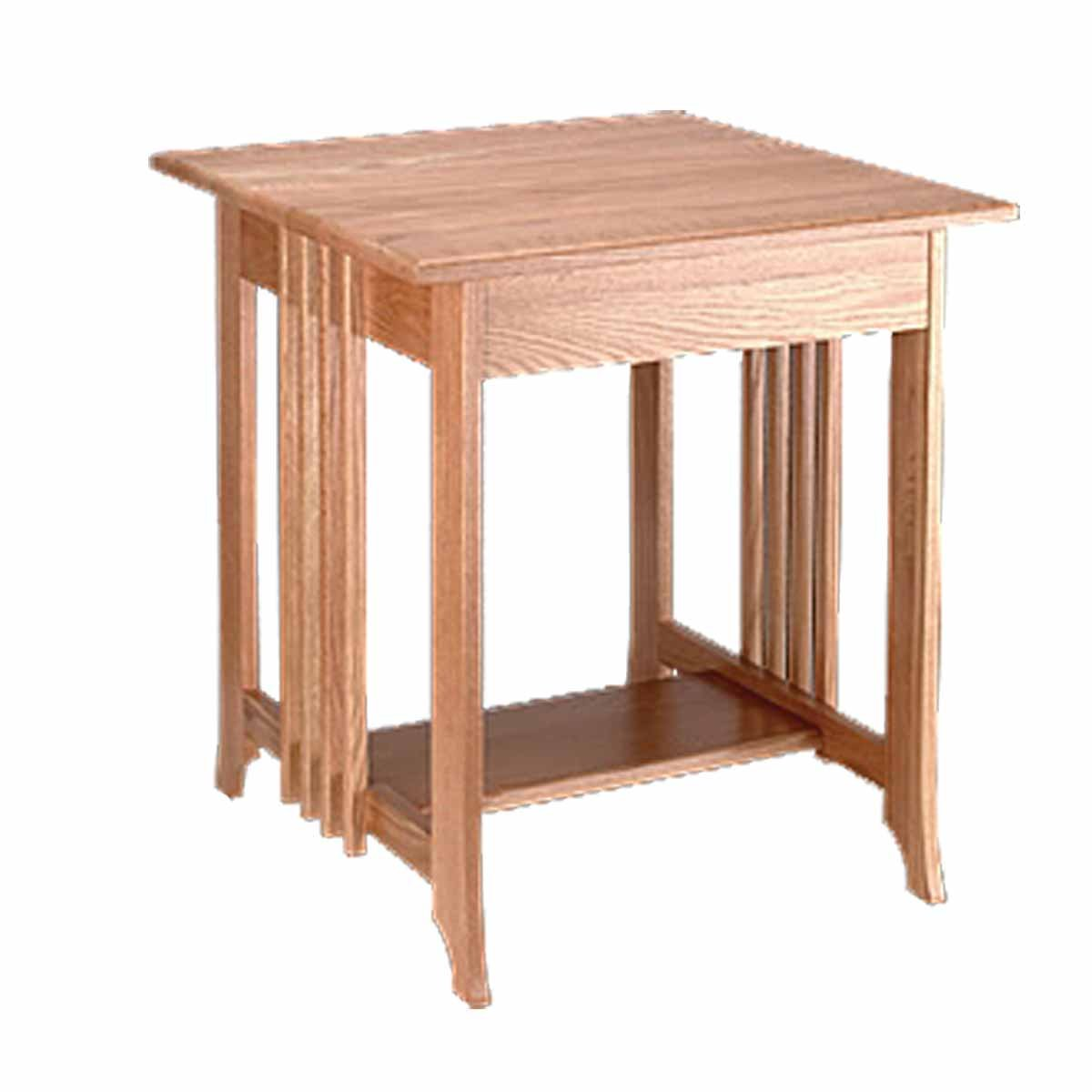 renovator supply end tables living room unfinished oak furniture mission table inch height kitchen dining royal manufacturing coffee with chairs under decorating over couch best
