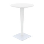 riva bar round table werzalit top hannah concept rattan patio and garden white end painted black beautiful coffee tables distressed wood nesting rustic wolf kitchen appliances 150x150