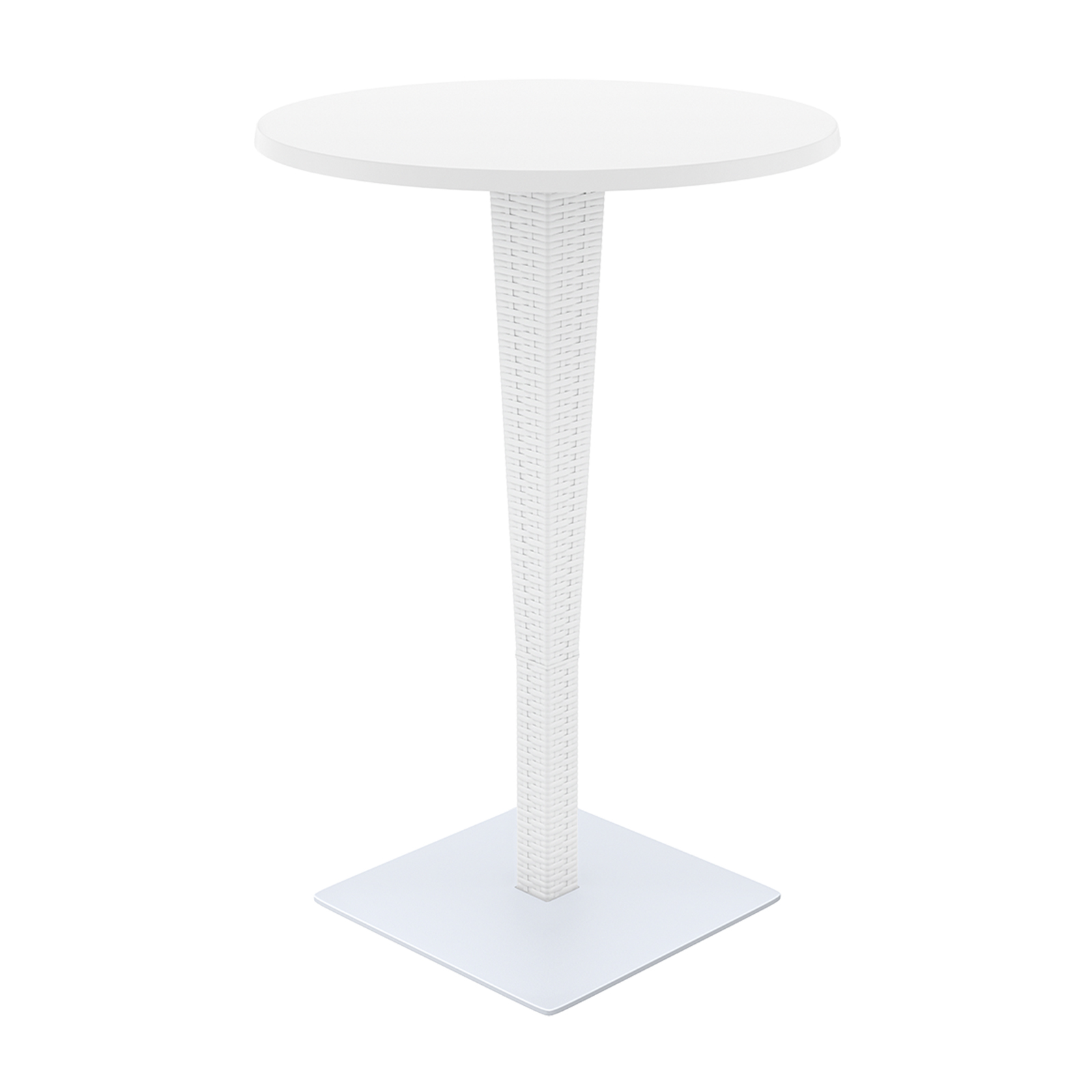 riva bar round table werzalit top hannah concept rattan patio and garden white end painted black beautiful coffee tables distressed wood nesting rustic wolf kitchen appliances