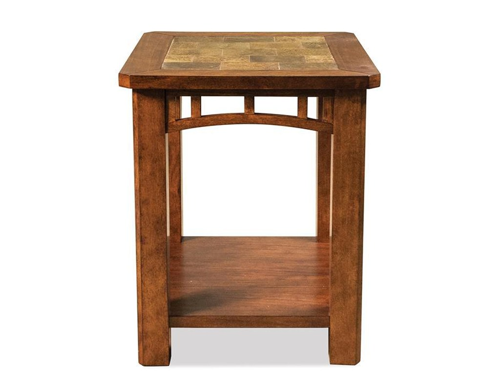 riverside furniture preston rectangular end table slate inserts products color tables ashley side powell manufacturing company occasional oak tommy bahama bedroom used white
