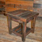 rough sawn pine open end table rustic furniture mall timber creek dsc befunky tables mosaic top outdoor side liberty bedroom suite stanley kids set color rug with brown 150x150