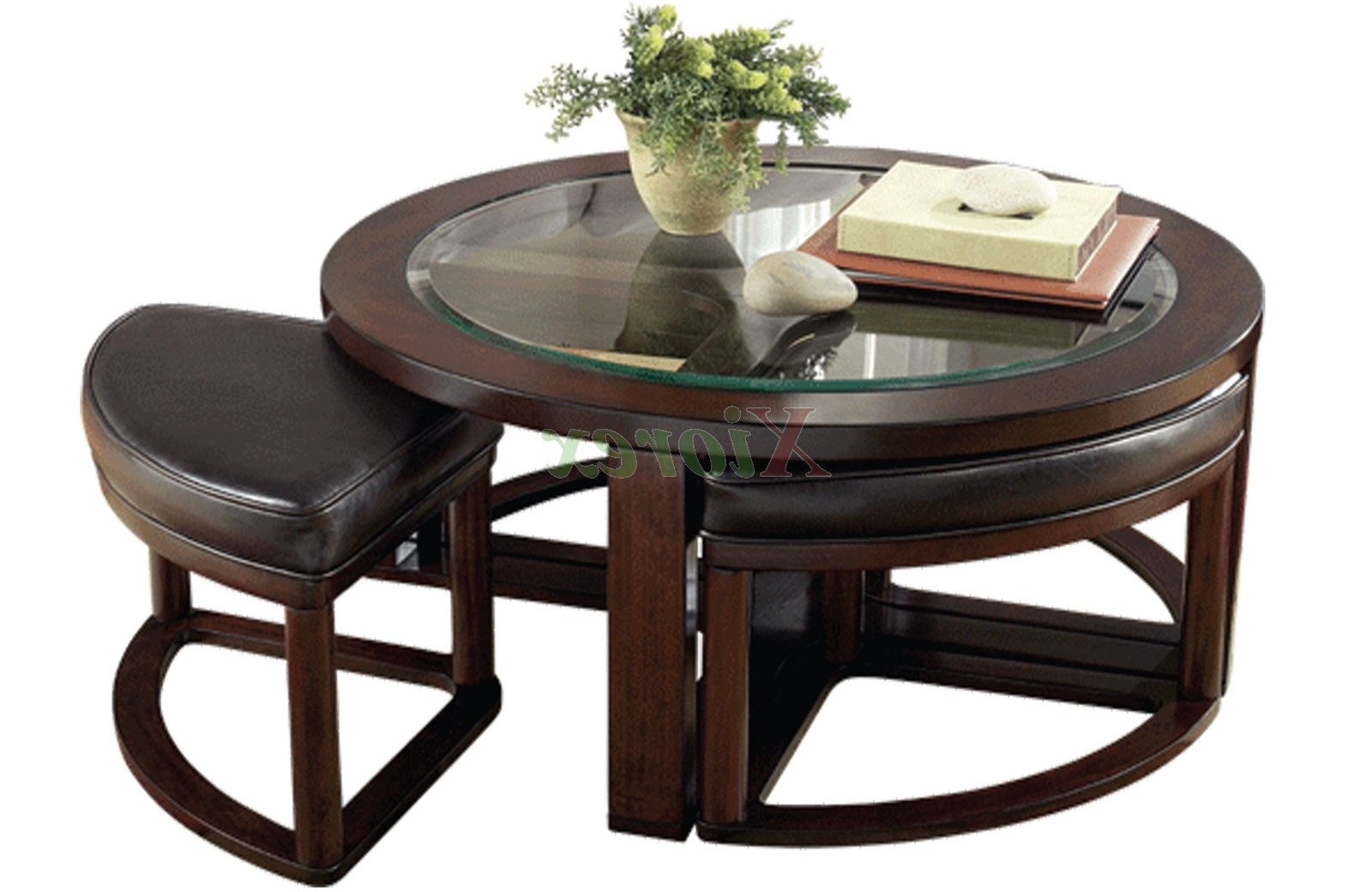 round coffee table with chairs kenny design wooden stools underneath furniture row and end tables tzolkin calendar black brown best finish for cherry top west elm parsons daybed