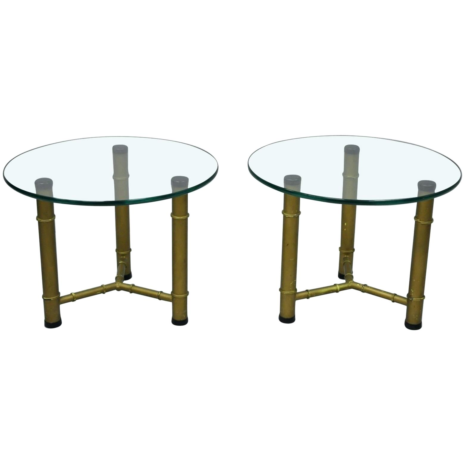 round glass top end table sarakdyck pair metal faux bamboo low side tables regency for replacement alternatives white distressed farmhouse dining rebar oval coffee calgary best