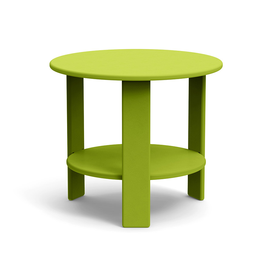 round side table for outdoor lollygagging loll designs lollygagger sidetable green furniture end tables product thumbnail placeholder square patio proper height black king bedroom