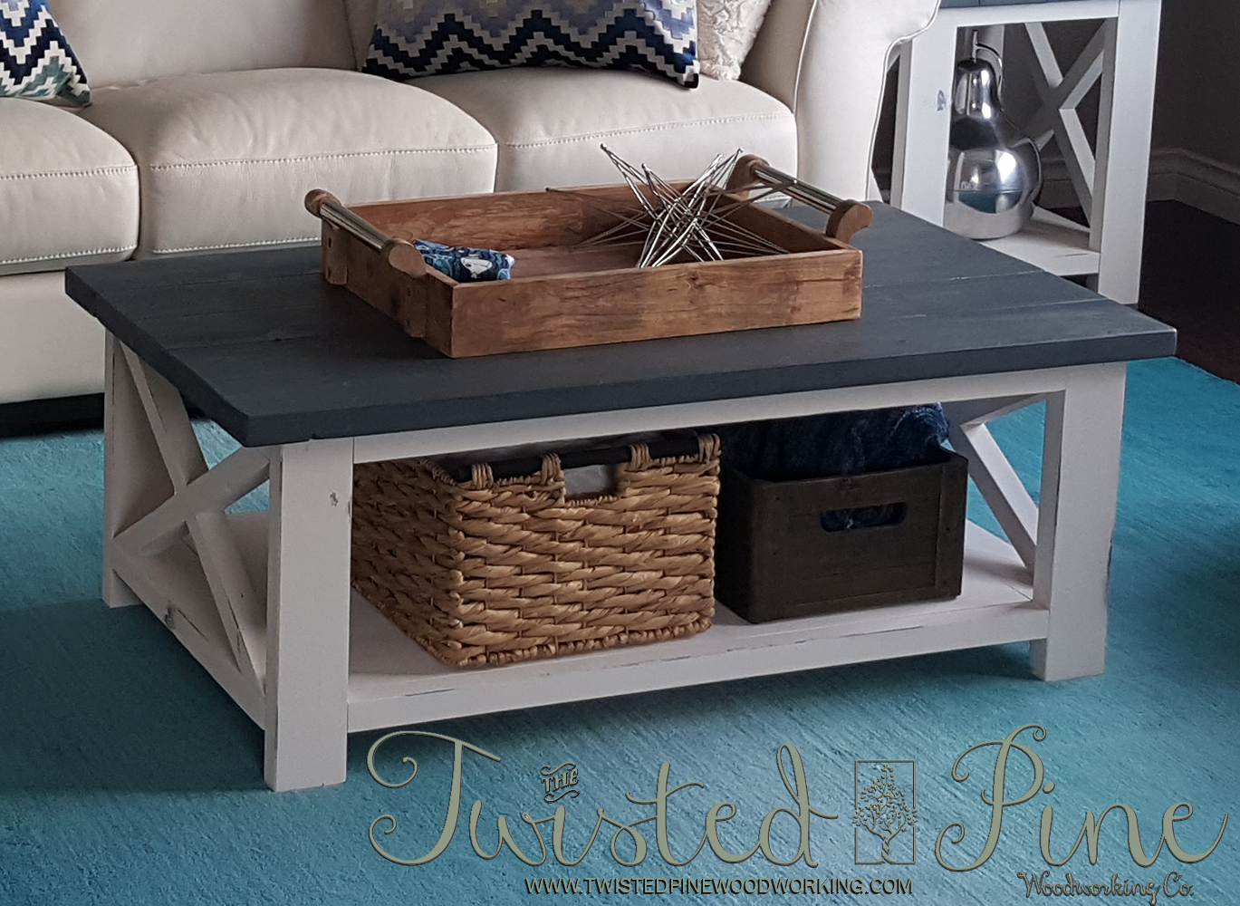 rustic coffee table the twisted pine woodworking product end distressed white paint navy bedside lazy boy furniture website styles foot sofa small console narrow with storage oval