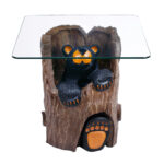 ruthie black bear end table tables unfinished wood side box frame nesting living room layout couches distressed coffee ashley furniture rancho cucamonga patio off white diy dog 150x150