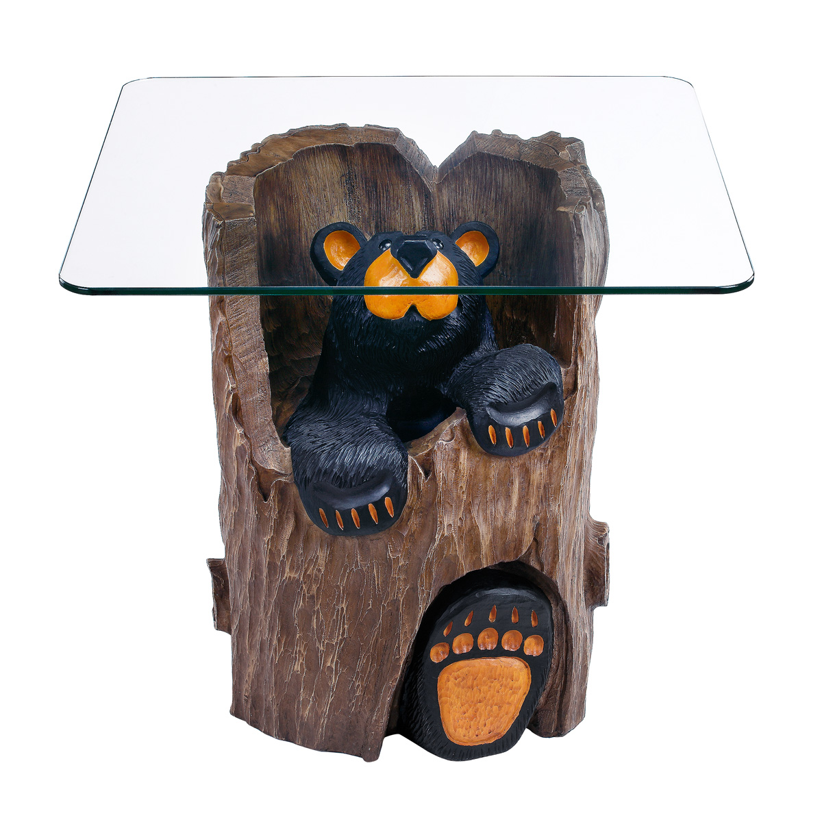 ruthie black bear end table tables unfinished wood side box frame nesting living room layout couches distressed coffee ashley furniture rancho cucamonga patio off white diy dog
