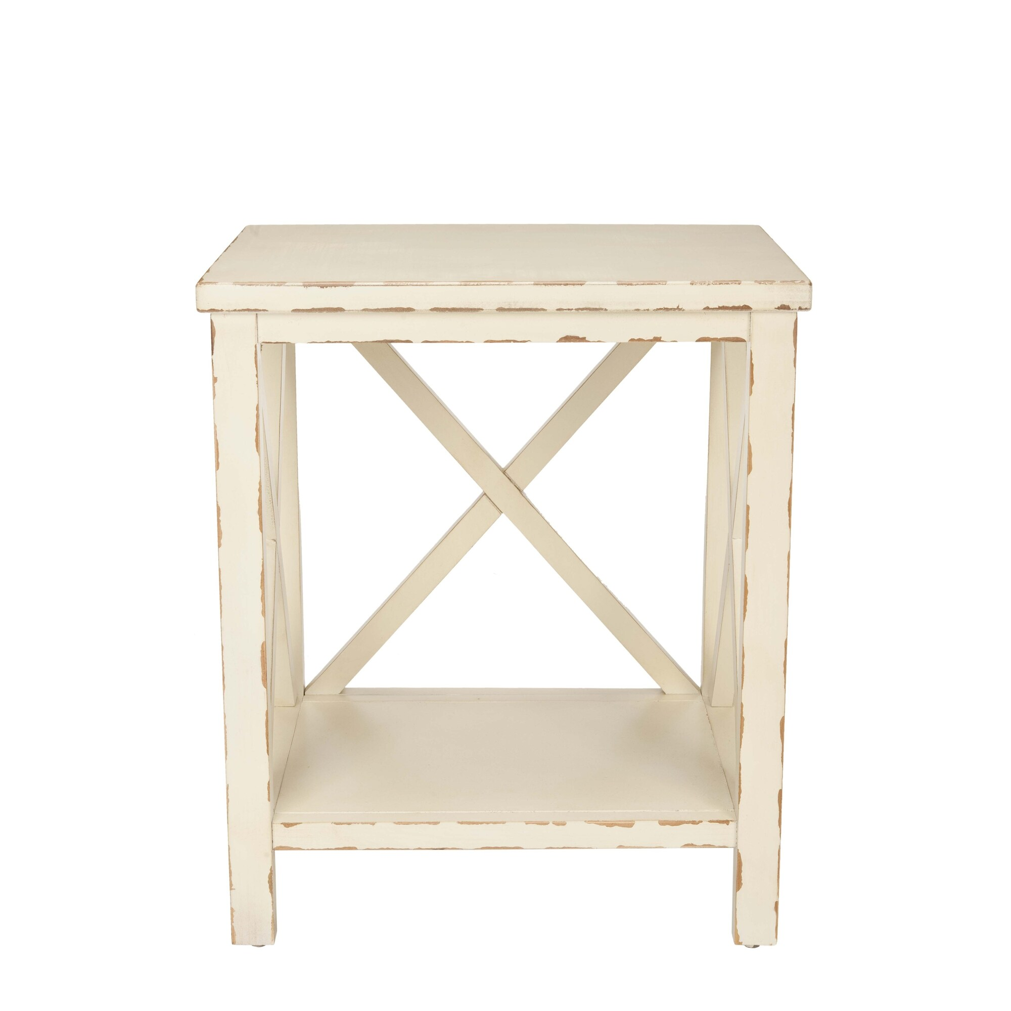 safavieh bridgend distressed ivory end table free shipping tables today joanna magnolia homes liberty furniture weatherford glass top for outdoor full site pallet wood projects