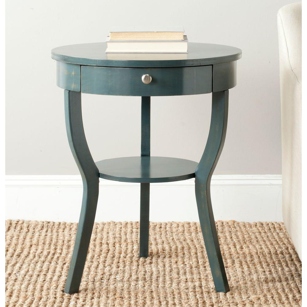 safavieh kendra steel teal storage end table the tables uttermost furniture ers ashley zenfield bedroom ethan allen distribution center oak accent fixer upper line loud countdown
