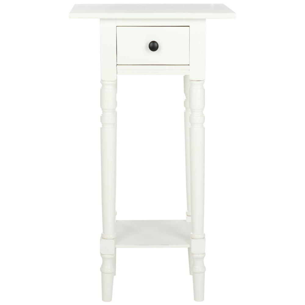 safavieh sabrina distressed cream end table the tables tall telephone spray paint old dresser ashley furniture locations drawer beside ethan allen gear coffee whalen gaming chair
