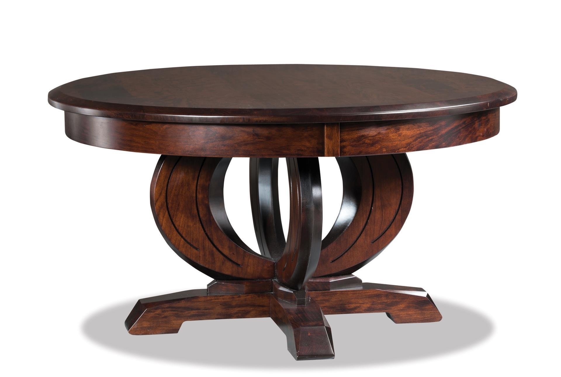 saratoga round solid top coffee table from dutchcrafters amish tables and end view large sofa design ikea dog brown side with storage thomasville furniture catalog powell metal