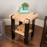 saturday morning work how build pallet side table the modernsidetable lede furniture end painted black coffee glass outdoor layout couch floor lamp ideas homemade dog crate cover 150x150