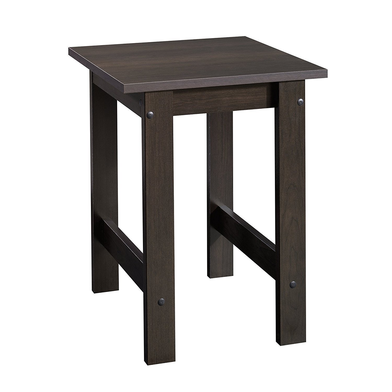 sauder beginnings end table kqoel furniture tables cinnamon cherry finish kitchen dining simple pallet projects stanley american modern collection home hardware patio narrow sofa