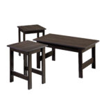 sauder beginnings pack table set multiple colors end cinnamon cherry circular outdoor ashley power black entrance ethan allen pub farmhouse legs bedside cabinets and drawers dog 150x150