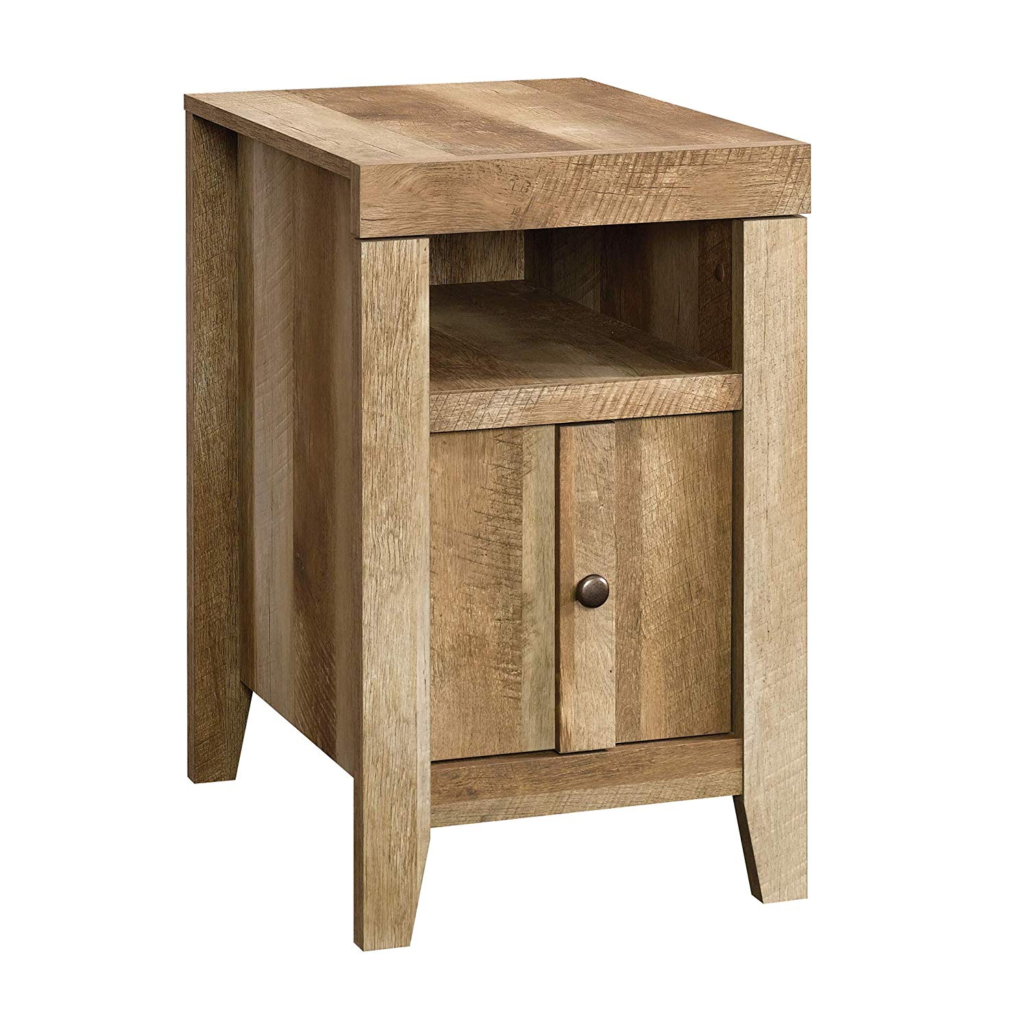 sauder dakota pass side table wml furniture end tables craftsman oak finish kitchen dining brown wicker outdoor unfinished hardwood baseball distressed white living room high wood