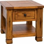 sedona end table the brick coffee and tables tap expand throw pillows for brown leather sectional powell two door console outdoor sheds rustic bar furniture stanley young america 150x150