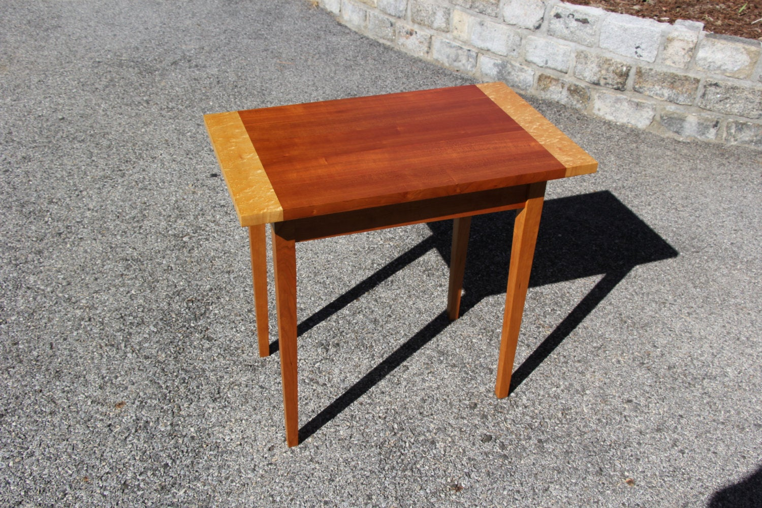 shaker end table made from quartersawn natural cherry and etsy fullxfull solid oak tables industrial coffee laura ashley sheets clearance log chairs liberty furniture brand