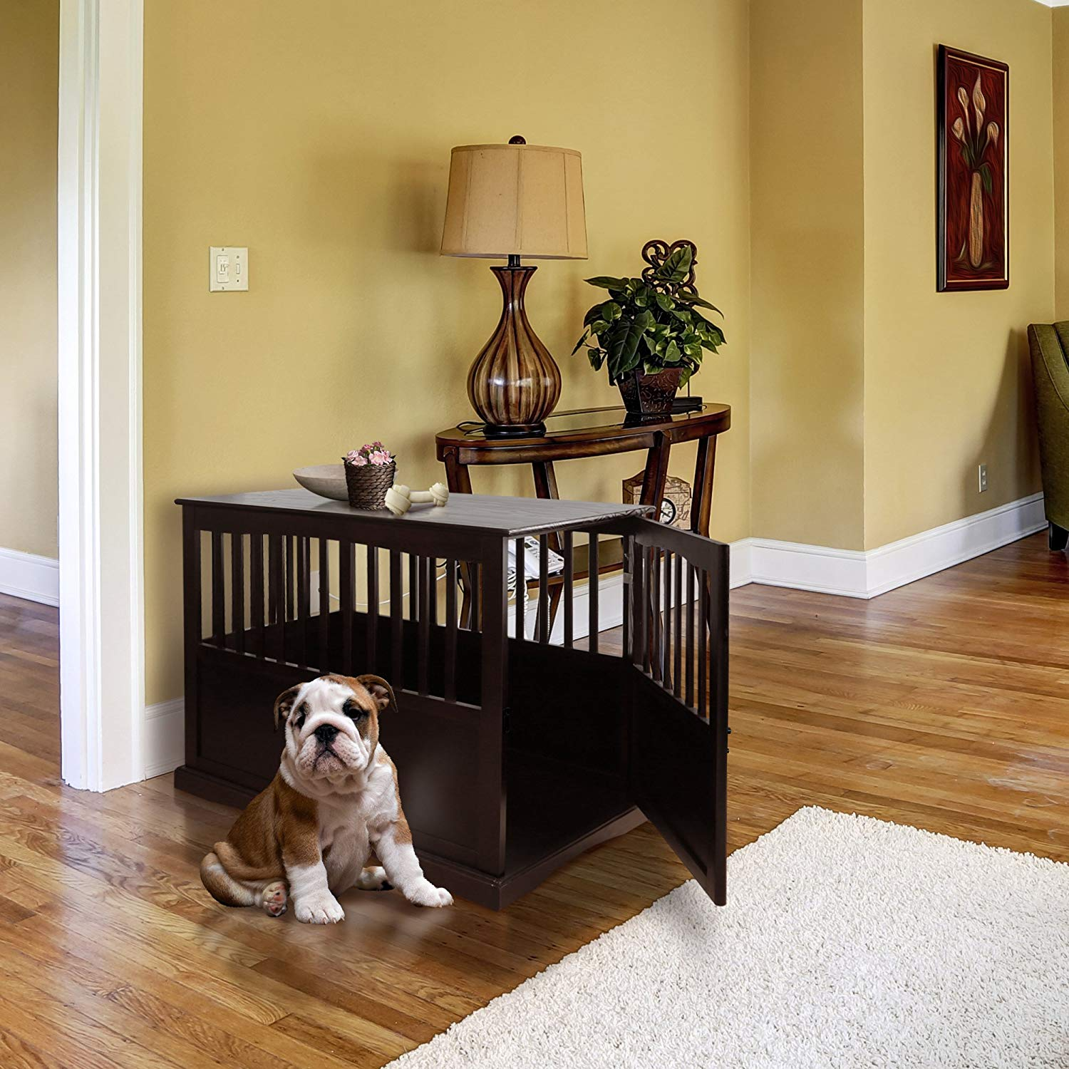 shan pet crate end table inch kitchen dining homesense cabinets side tables under leon furniture coffee glass top for thomasville bridges bedroom and next leather sofas patio