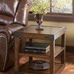 shepherdsville traditional brown wood end table the classy home coffee tables and click enlarge liberty furniture side chair square with stools solid oak drawers ashley 150x150