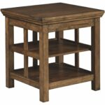 signature design ashley flynnter end table medium brown kitchen dining furniture murphy coffee set piece modern miami off distressed paint effects wood ethan allen fabrics 150x150