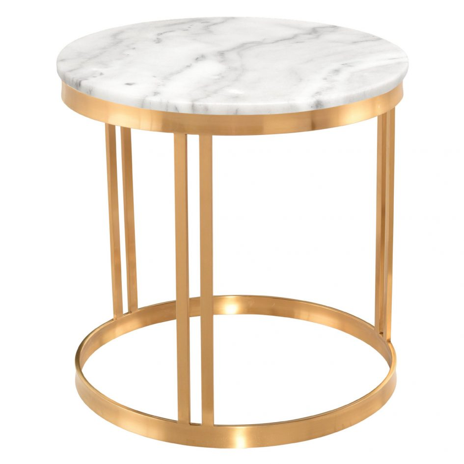 silver and glass end tables small side table with drawers marble modern gold accent square metal coffee chrome bedside lamps powell heirloom cherry jewelry armoire kmart kitchen
