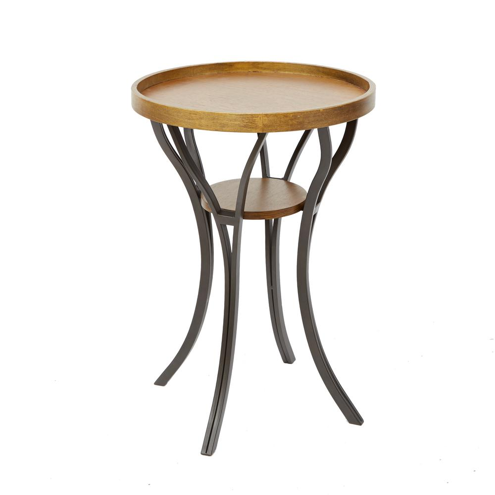 silverwood furniture reimagined leo brown and gray end table tables the super narrow altra coffee piece set queen anne chairs ethan allen italian round dining navy blue console