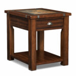 slate ridge end table cherry value city furniture and mattresses wood tables accent occasional room essentials tier shelving unit instructions average dining size round glass top 150x150
