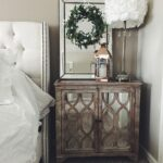 small mirrored end table walnut nightstand glass top bedside bedroom tables broyhill planter dog kennel plans cof cable coffee base kits thomasville ottawa furniture corner 150x150