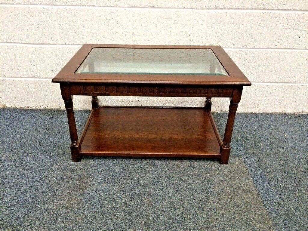small oak coffee table with glass top stroud gloucestershire end tables bathroom wall cabinet local unfinished furniture dorel home products copper sofa what colour cushions for