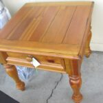 sold yorkshire market broyhill end table distressed pine flickr used tables starting with storage baskets large dog crate home furniture company espresso colored mirrored coffee 150x150