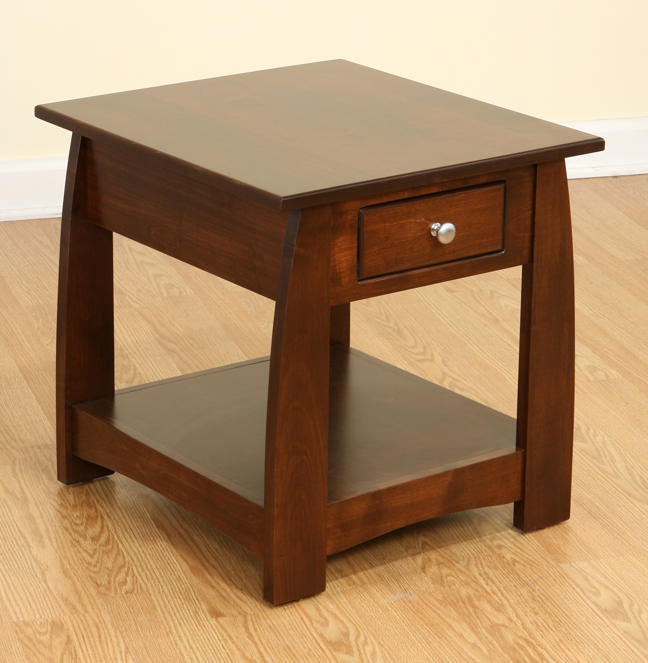 solid cherry end tables house design attractive color small table mosaic outdoor ethan allen chandeliers lodge furniture side vancouver contemporary living room coffee large round