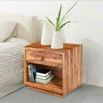 solid wood nightstand end table nightstands and tables hover zoom stone patio bear accent royal furniture design bassett recliners pillows brown leather sofa west elm reviews big 150x150
