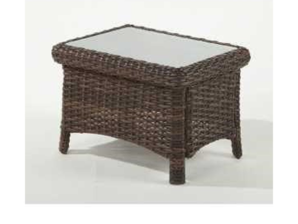 south sea rattan wicker saint tropez end table sons products color tables with glass top home hardware patio loungers interior dog kennels macys kitchen and chairs best coffee for
